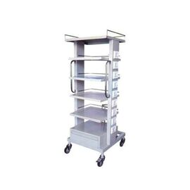 Wellton WH-566 Stainless Steel Monitor Trolley