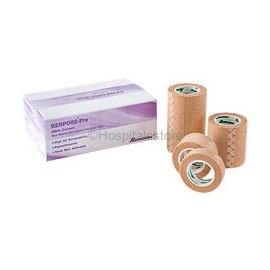 Romsons Kenpore Pro/Plus Paper Surgical Tape (Box of 24 Roll)