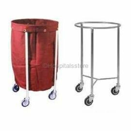 Surgix Linen Trolley with Basket, Material: EPC