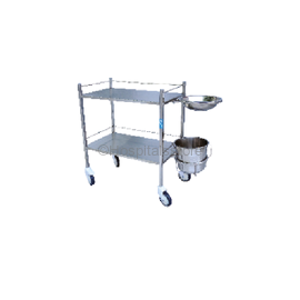 Sigma Dressing Trolley Stainless Steel