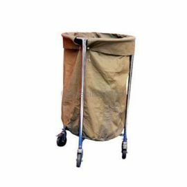 Soiled Linen Trolley with Canvas Cart (M.S.)
