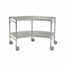 ACME 1055 Instrument Trolley, Curved