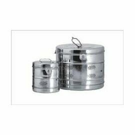 """Dressing Drums SS Heavy Jointed, Size: 9"""" X 9"""""""