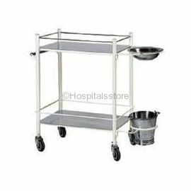 Surgix Dressing Trolley with SS Tops