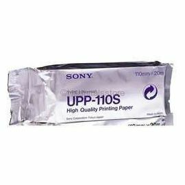 Sony Ultrasound Thermal Paper, UPP-110S, Box of 10 nos.