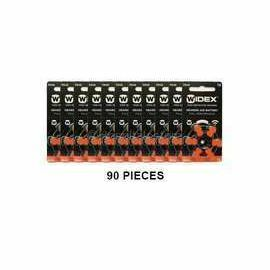 Widex Size 13 Batteries for Hearing Aids (PR48) - Pack of 90