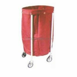 Aar Kay CRC Solid Linen Trolley with Canvas Bag