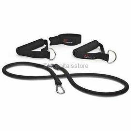 Active Band Physical Resistance Band with Grip Handle- L size