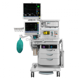 GE Anesthesia Workstation Aisys CS2 With 15 Inch Ventilator Display