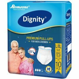 Dignity Premium Pull Up Adult Diapers - 10 Pcs/Pack