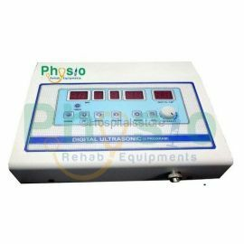 Physio Rehab Equipment 9 Program Digital Ultrasonic ( Continuous & Pulse Mode ) Microprocessor Based - physiotherapy machine