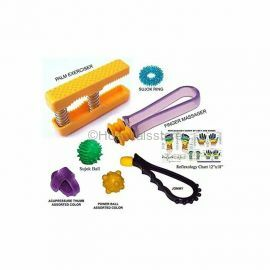 Perfect Magnets - Hand Exerciser Combo With Reflexology Chart