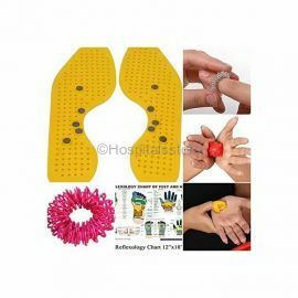 Perfect Magnets - Magnetic and Acupressure Sole with Power Ball Thumb Su-Jok Ring and Reflexology Chart