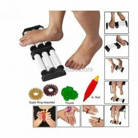 Perfect Magnets - Spiked Acupressure Massage Combo With Reflexology Chart