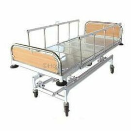 ACME Mechanical ICU Hospital Bed S.S Bows & Collapsible Side Railing