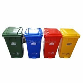 Plastic Dustbin With Pedal, For Hospital, Capacity: 120 Liters