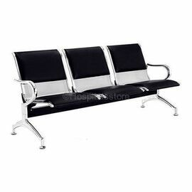Three Seater Hospital Waiting Chair With Cushion
