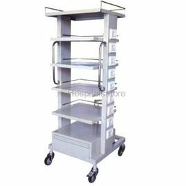Wellton, WH-566 Monitor Trolley (Stainless Steel)