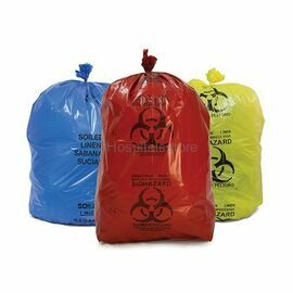 Biodegradable Plastic Hospital Biohazard Bags; Size: Small,Large
