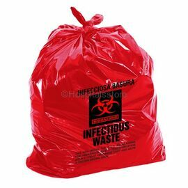 Large 20 Kg Clinical Waste Bag, Red Colour
