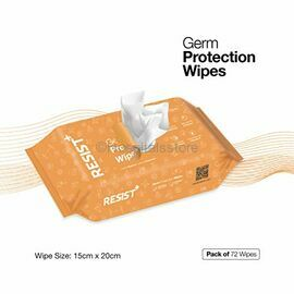 Resist+ Non- Alcoholic Germ Protection Wipes