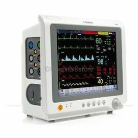 Comen C50 Multipara Monitor, USFDA Approved Touch Screen  Patient Monitor, Cardiac Monitor with 10.4 inch Display