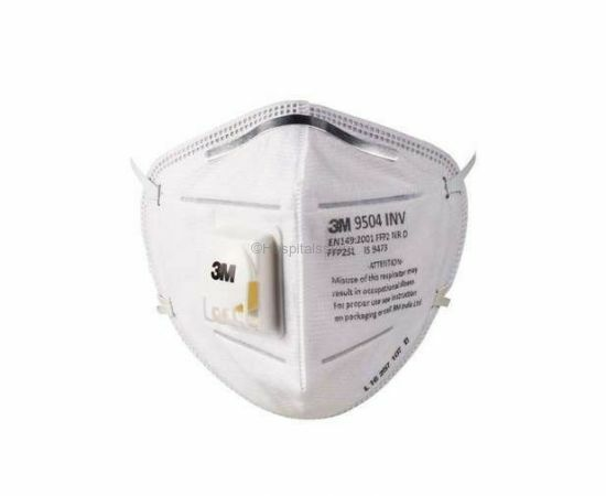 3M 9504 INV N95 Dust Pollution Mask - Pack of 10