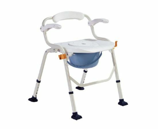 Deluxe Commode Chair (Soft Cushion)