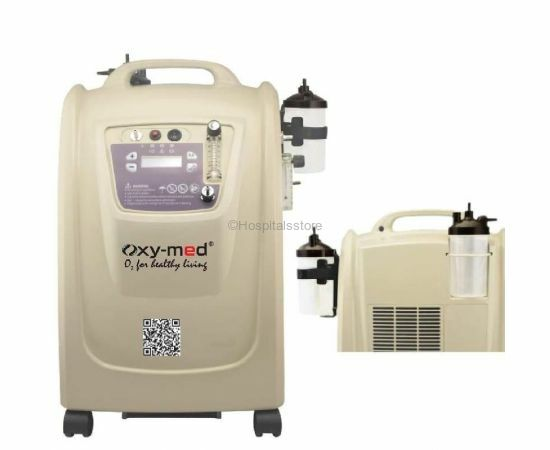 Oxymed 10 Litre Dual flow Oxygen Concentrator with 2 year Warranty