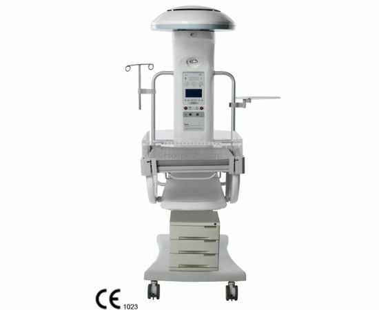 Radiant Warmer, RHW 3001C Fixed cradle + 3 Drawers, Zeal Medical